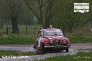 Saab - Rallye de la Lys